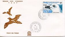 FDC / T.A.A.F. TERRES AUSTRALES TIMBRE N° 110 / FAUNE /
