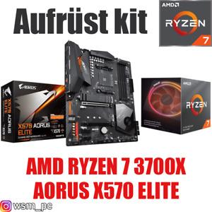 AMD 🆁🆈🆉🅴🅽 7 3700X ● AORUS X570 Mainboard ● Ryzen PC Bundle Set Kit