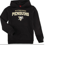 NHL Pittsburgh Penguins Hooded Sweatshirt  New Youth SMALL (8) MSRP $28