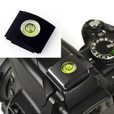 Hot Shoe Bubble Spirit Level Cover Protector Cap For Canon Nikon DSLR Cameras