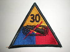 US ARMY 30TH ARMORED DIVISION PATCH - COLOR