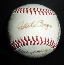 1989 Bradenton Explorers Team 21x Signed Baseball PSA/DNA LOA Senior Pro League