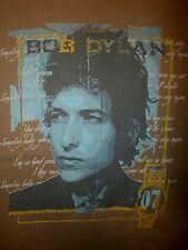 BOB DYLAN CONCERT T SHIRT I'm Not There Someday Baby MODERN TIMES Tour 2007 SM