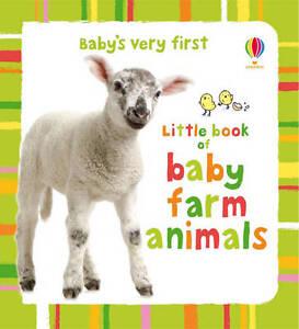 Usborne Baby's Very First Book of Baby Farm Animals **NEW HARDBACK**
