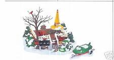 DEPT 56  SNOW VILLAGE - THE BACKYARD PATIO