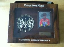 Vintage Sports Plaques Jeff Gordon Clock #24 NASCAR