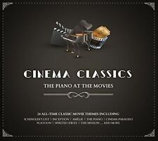 CINEMA CLASSICS: THE PIANO AT THE MOVIES USED - VERY GOOD CD