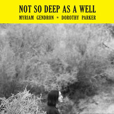 Myriam Gendron - Not So Deep As a Well [New CD]