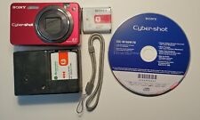 Sony Cyber-Shot DSC-W100 8.1MP Digital Camera - Carl Zeiss Lens, charger, *more
