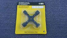 Schaltschrankschlüssel universal / Bart - Dreikant - Vierkant  - mit Rechnung -