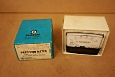 Vintage Calectro Panel Meter D1 910 Dc Microampres Electrical Testing Equipment