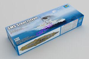 TRUMPETER 05365 1:350 Scale SMS Szent István Model Kit