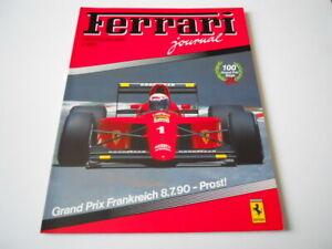 revue magazine FERRARI club Deutschland 1990 - german text