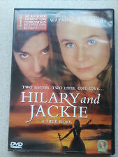 Hilary And Jackie (DVD, 2001) Emily Watson  Rachel Griffiths