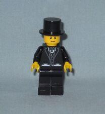 *******NEW LEGO WEDDING GROOM MINIFIGURE WITH TOP HAT IN BLACK TUXEDO********
