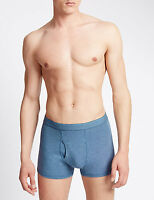 MEN MARKS AND SPENCER 3 PACK COOL&FRESH BOXER SHORTS COTTON STRETCH M&S TRUNKS