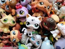 Littlest Pet Shop LPS Lot Random Surprise Gift Grab Bag 7 Pets Dog Cat Mixed EUC