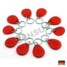 10 x RFID Transponder Key (rot) Tag Keyfob Schlüsselanhänger 125 kHz Arduino ...