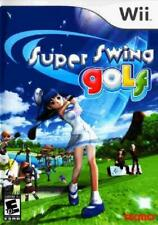 Super Swing Golf Nintendo Wii Complete NM Wii, Video Games