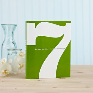 7 Book: How Many Days of The Week Can Be Extraordinary? Inspirational Book- Gift