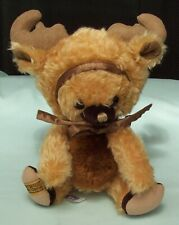Merrythought Punkinhead Moose Cheeky Teddy Bear Mohair  Ltd Ed  England