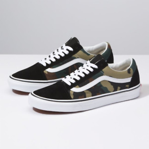VANS Old Skool Camouflage Sneakers for Men for Sale | Authenticity ...