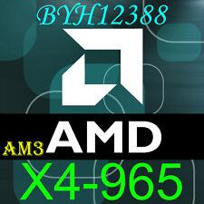 AMD Phenom II X4 965 - 3.4GHz Quad-Core (HDZ965FBK4DGM) Processor Black Edition