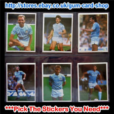 ☆ Daily Mirror 1986-87 Stick With Soccer (MANCHESTER CITY) *Select Stickers*