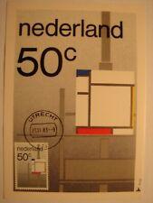 (NL3196) ART PAINTING PIET MONDRIAAN 1983 NETHERLANDS maximum maxi card postcard