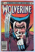 Wolverine #1 - Limited Series Set 1982 Frank Miller Marvel Comics Newsstand