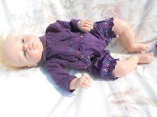 ensemble  bloomer pour  bébé 3 mois ou poupée reborn,baigneur 55cm