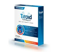 Strong Nature Tiroid formula 30 pills for thyroid gland against oxidative stress