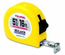 TAJIMA Tape Measure HL-16/5MBW 16 ft / 5m x 1 inch Hi-Lock Dual Metric Scale NEW