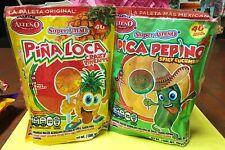 Alteno Mexican Candy Lollipops 2 Pack - Pina Loca + Pica Pepino 80 Pieces