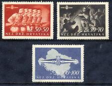 CROATIA 1945 Foundation of Croatian Storm Division set MNH / **