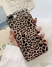 For iPhone XS Max Beige Leopard Print Soft Silicone Protect Shell Case Cover NEW