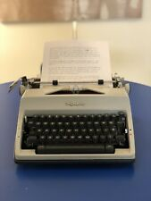 1969 Olympia SM9 DeLuxe Typewriter & Case West Germany (Cleaned and Serviced)