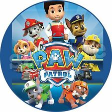 Eßbarer Tortenaufleger Paw Patrol neu Party Deko Tortendeko Tortenbild Hund dvd