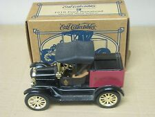 ERTL SOVEREIGN BANK DIECAST BANK 1918 FORD RUNABOUT 1/25 SCALE DIE-CAST