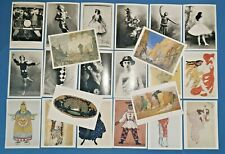 Lovely Set of 22 New Postcards Ballet Dance Diaghilev Ballets Russes Ballerinas