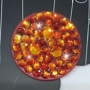 Bling Authentic Red PopSocket Fire Opal Swarovski Crystals PopSockets iPhone 11