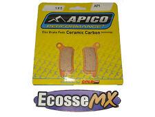 KTM SX85 2003-2010 pastiglie freni posteriori API 185 Apico/Gold Fren
