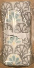 NEW Pottery Barn Kids Nora Scallop Crib Fitted Sheet GRAY