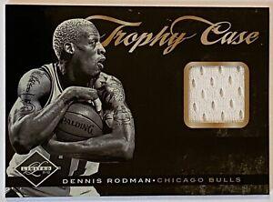 2011-12 Panini Limited DENNIS RODMAN #36 Trophy Case Jersey Relic #38/75 BULLS