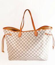 Louis Vuitton Neverfull Damier Azur GM - LOUIS VUITTON NEVERFULL BAG