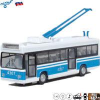 Diecast Trolley Bus Scale 1:43 MTRZ 5279 Russian Model Cars