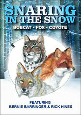 Snaring in the Snow DVD - Fox, coyote and Bobcat, trapping Free shipping