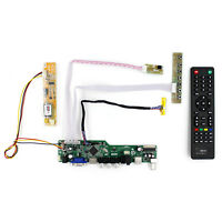 TV PC HDMI CVBS RF USB AUDIO LCD Controller Board For LVDS interface LCD Screen