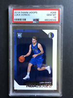 Luka Doncic Rookie Card PSA 10 ERROR SSP Gem Mint 2018 NBA Hoops PSA# 46026049