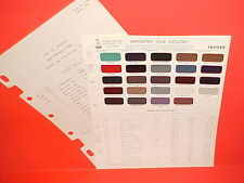 1955-1964 JAGUAR XK-140 SS 150 2+2 150S XKE E D-TYPE ROADSTER COUPE PAINT CHIPS